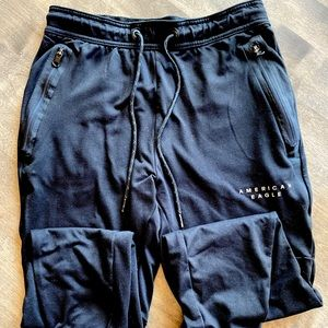Men's Small American Eagle Joggers with Logo